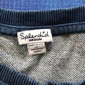 Splendid Dresses - 💙Splendid Indigo sweatshirt dress💙
